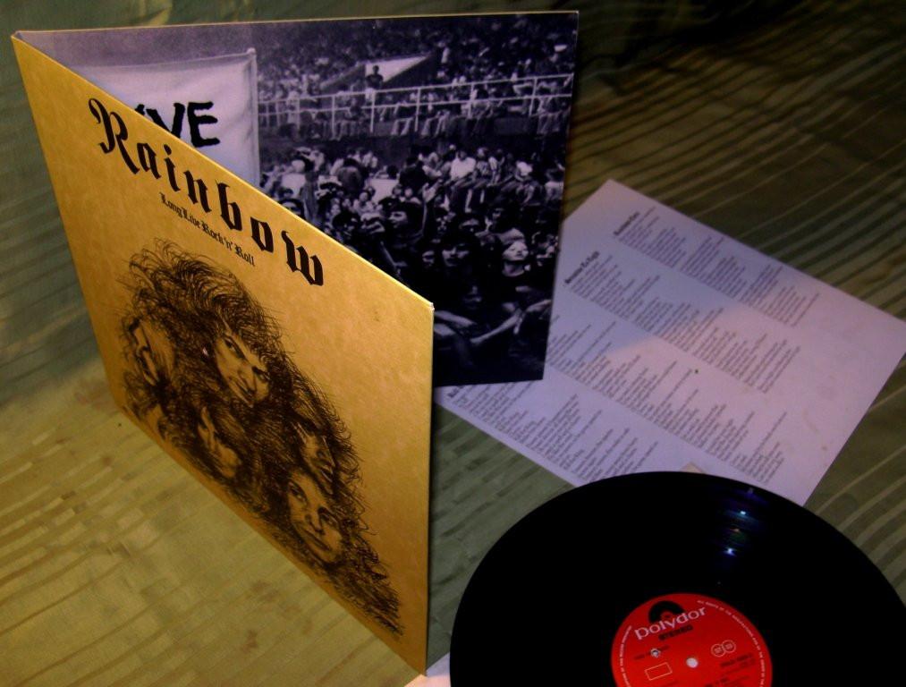 Rainbow  Long Live...'78    Polydor  UK    NM / NM