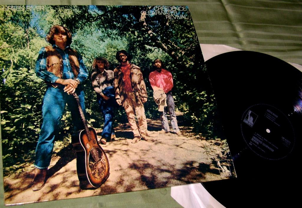Creedence Clearwater Revival  Green River 1969 EX+