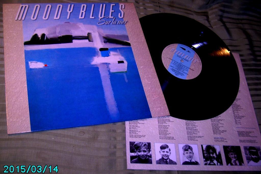 MOODY BLUES  Sur la mer 1988  Polydor UK  NM / ~NM