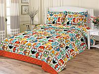 Детское покрывало-одеяло Совы