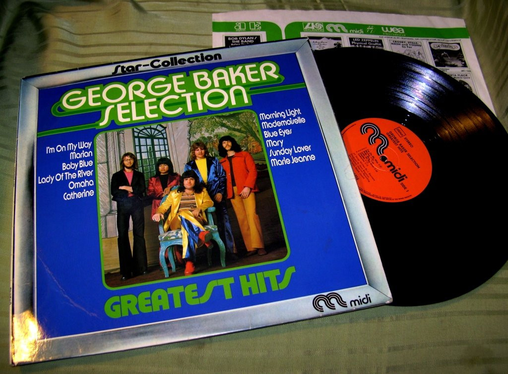 G. Baker Selection   GREATEST HITS '73    VG++/ NM