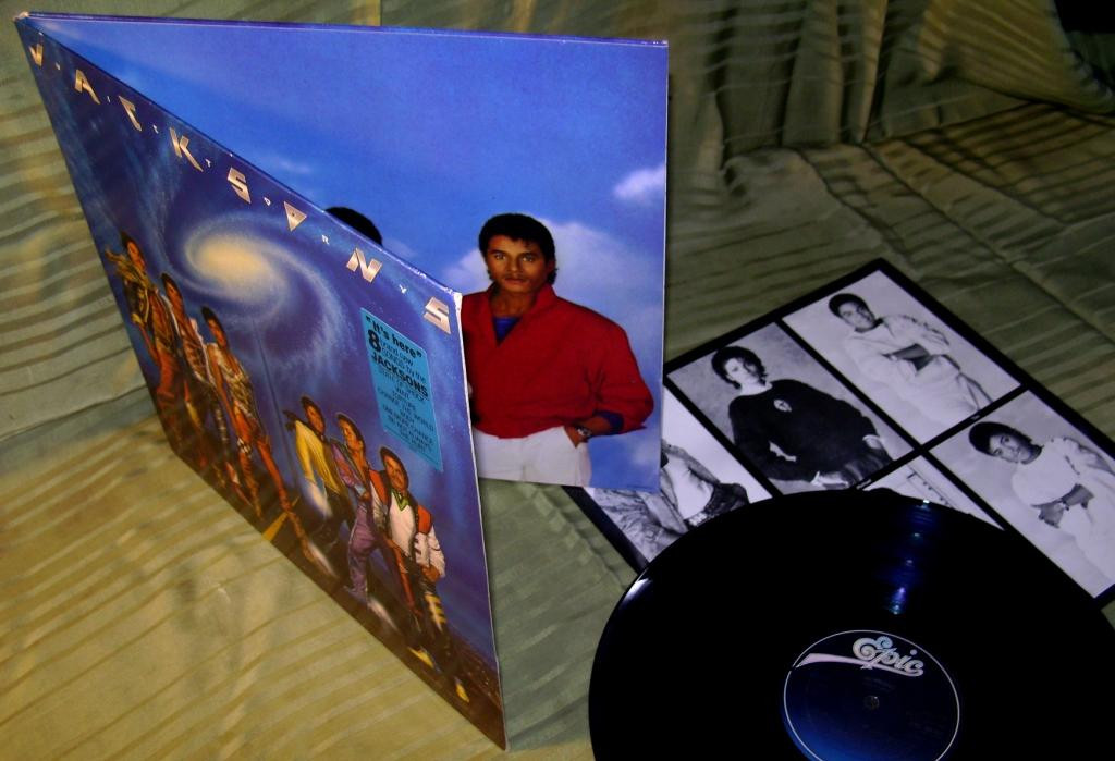 JACKSONS  VICTORY  1984   Epic Holl.   NM + / NM -
