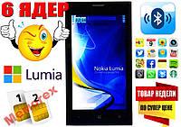 НОВЫЙ Nokia Lumia 1020! 6 ЯДЕР, 2 СИМ +ЧЕХОЛ! NEW