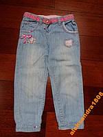 Легкие летние джинсы для девочки Chicco 92 см, 2 г