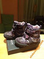 Зимние фиолетовые сапоги GEOX, 23 размер, 15 см
