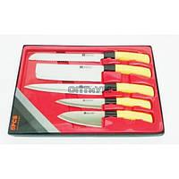 Набор ножей в подарочной красной  упаковке 5 шт  R00046