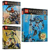 Конструктор шарнирный Бионикл (аналог Lego Bionicle) 3 вида 610-1-2-3
