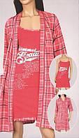 Комплект  халат и сорочка  Nicoletta 14499