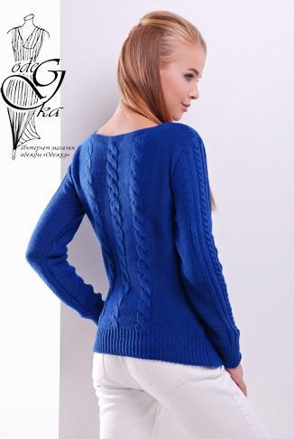 Фото-1 Женского свитера из шерсти и акрила Адель-5