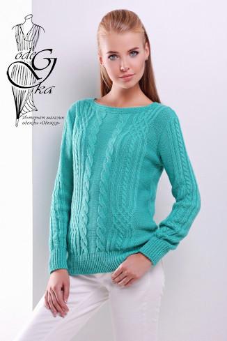 Фото Женского свитера из шерсти и акрила Адель-5