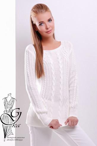 Подобные товары-3 Женского свитера из шерсти и акрила Адель-5