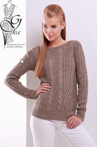 Подобные товары-5 Женского свитера из шерсти и акрила Адель-5