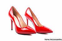 Туфли женские лаковые Aici Berllucci (вечерние, стильные, красные)