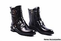 Ботинки женские кожаные Molared (ботильоны комфортные, стиляги, байка)