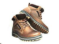Ботинки мужские Riccone с натуральной кожи в стиле CAT