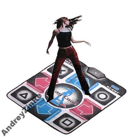 USB танцевальный коврик DANCE PAD для компютера