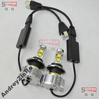 60 Вт H4 светодиодые LED автомобильные фары