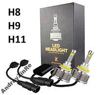 60 Вт H8/9/11 светодиодые LED автомобильные фары