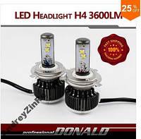 80 W комплект LED автомобильные фары 7200LM  6000К