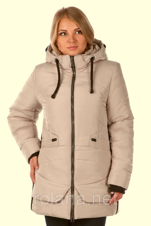 Женская зимняя курточка 533391411_w640_h2048_bezh