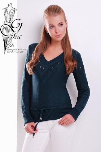 Подобные товары Вязаных шерстяных женских свитеров Муза-4 с акрилом