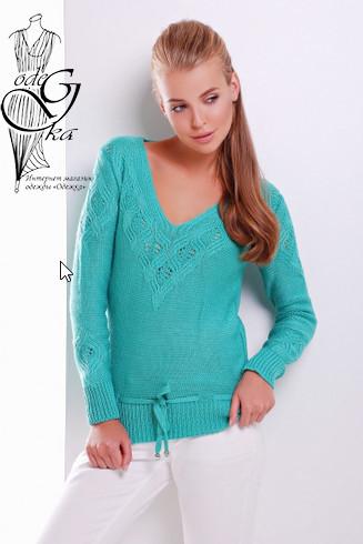 Подобные товары-1Вязаных шерстяных женских свитеров Муза-4 с акрилом