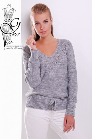 Подобые товары-2 Вязаных шерстяных женских свитеров Муза-5 с акрилом