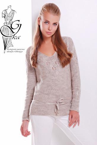 Подобные товары-3 Вязаных шерстяных женских свитеров Муза-4 с акрилом