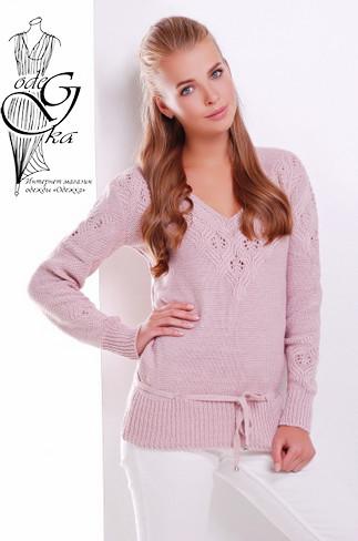 Подобные товары-6 Вязаных шерстяных женских свитеров Муза-5 с акрилом