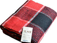 Теплый плед Vladi 20% шерсть полуторный размер