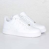 Кроссовки детские Nike Air  Force 1 Low White (найк аир  кидс, оригинал)