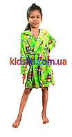 Детский махровый халат для девочки для мальчика
