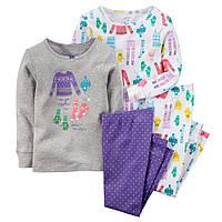 Пижама детская Carter's 3т Картерс для девочки