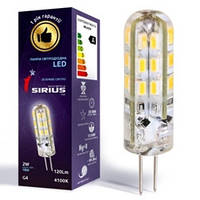 Sirius Лампа  LED 2Вт 12V  G4
