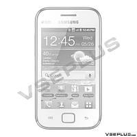 Корпус Samsung S6802 Galaxy Ace Duos, черный, high copy