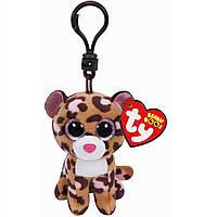 """Мягкая игрушка Beanie Boo's Леопард """"Patches"""" брелок"""