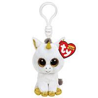 "Мягкая игрушка Beanie Boo's Единорог ""Pegasus"" брелок"