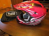 Шлем для мотокросса Pure Polaris Tenacity XL и XXL