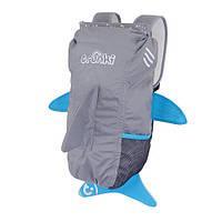 Рюкзак для подростков Trunki PaddlePak Акула Trunki 2.6 Gallon PaddlePak – Shark
