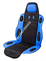 Универсальная накидка на сиденье чер-синий