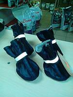 Теплые ботиночки для собак на флисе!