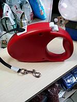 Рулетка для  собак 3м до 20кг шнур!