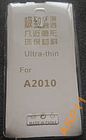 Силиконовый ультратонкий чехол для Lenovo A2010
