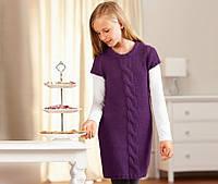 Вязаное платье-туника рост 146-152 TCHIBO Германия