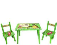 Набор детской мебели Столик + 2 стульчика «Маша» М 0295 КИЕВ