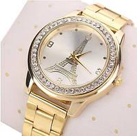 Практичные женские часы gold eiffel tower. Высокое качество. Удобные часы. Купить в интернете. Код: КДН754