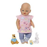 Костюм с Наклейками для куклы Baby Born Zapf Creation 819616