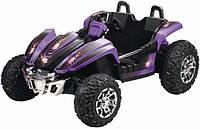 Детский электромобиль БАГГИ ZP 6058: ФИОЛЕТОВЫЙ 2 места - купить оптом детские электромобили, фото 1