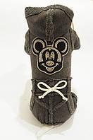"Спортивный костюм Vip Doggy ""Микки"" размер S темно серый, фото 1"