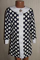 Модные платья для девочек. Горохи. 30 - 36 рр. Код 420.